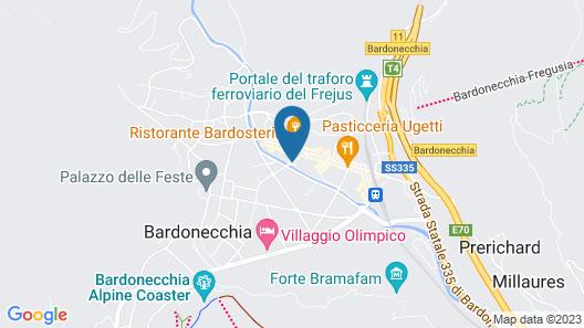B&B - Appartamenti Bardosleep Map