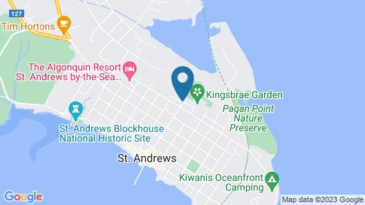 Kingsbrae Cottage Map