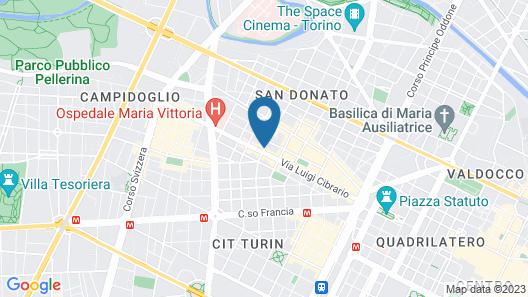 Villa Ardesia Map