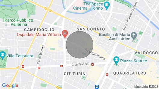 Bijoux Torino Centrale Map