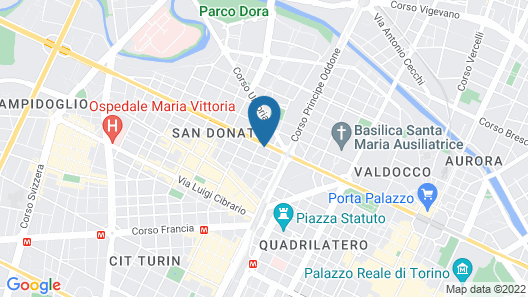 New Apartment in Turin Map