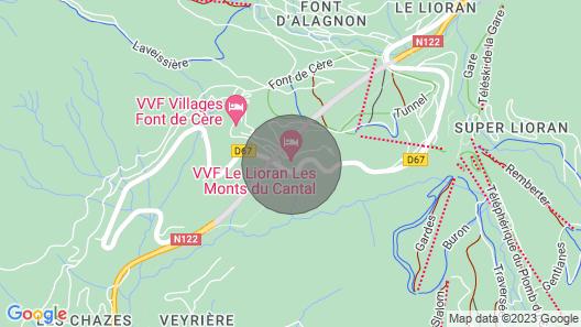 Chalet vue Montagnes Map