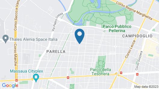 Hotel Lo Scudiero Map