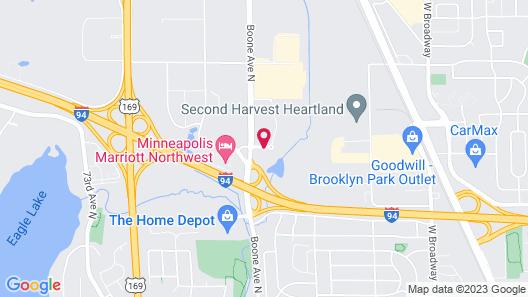 La Quinta Inn & Suites by Wyndham Minneapolis Northwest Map