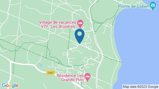 Les Oyats Sylvadoures Map