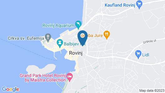 Apartments & Rooms Chiara Map