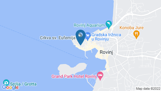Rooms Sotto i Volti Map