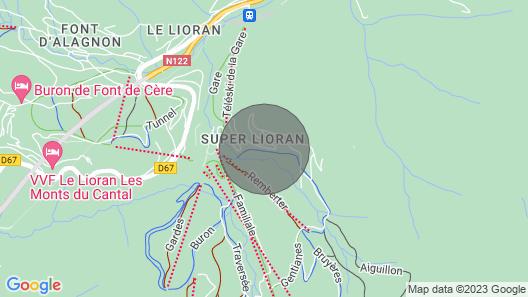 Plein sud au Départ des Sentiers VTT Rando, 3 Ch,2 sdb Map