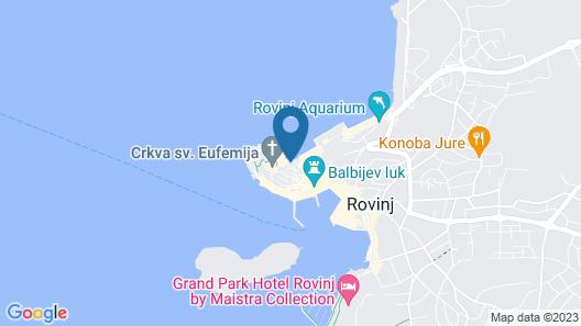 Casa Amando Boutique Guesthouse Map