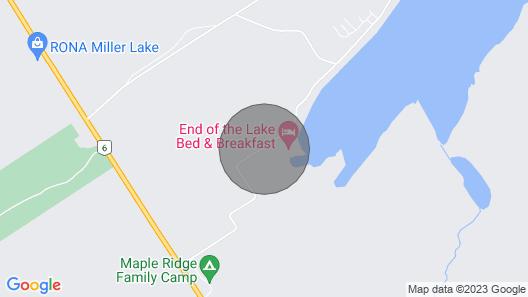 New Bruce Peninsula Cottage Map