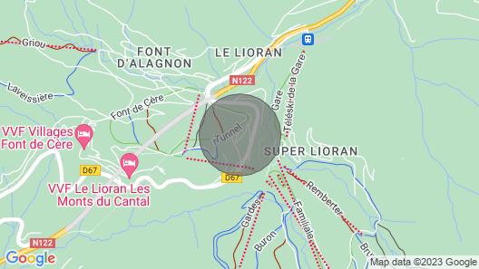 Chalet Les Estives R-2D Map