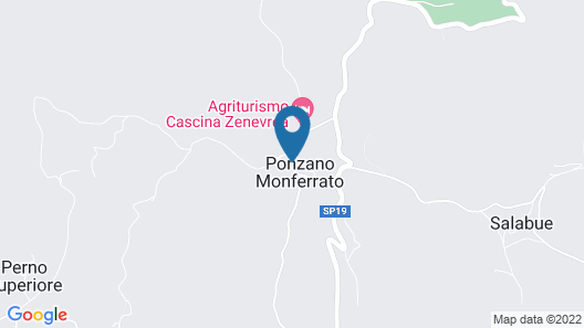 Cascina Nebbia Map