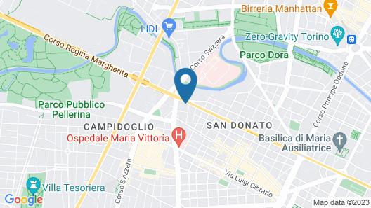 The Originals City, Hôtel Royal, Turin Map