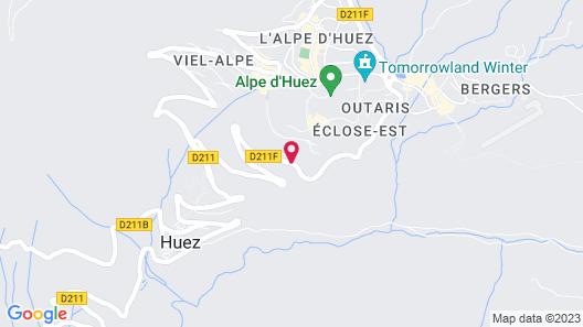 Hôtel Daria-I Nor Map