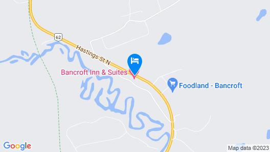 Bancroft Inn & Suites Map