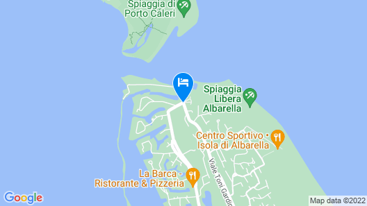 Hotel Capo Nord Map