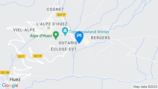Hôtel Le Pic Blanc Map