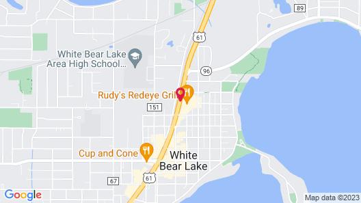 Best Western Plus White Bear Country Inn Map