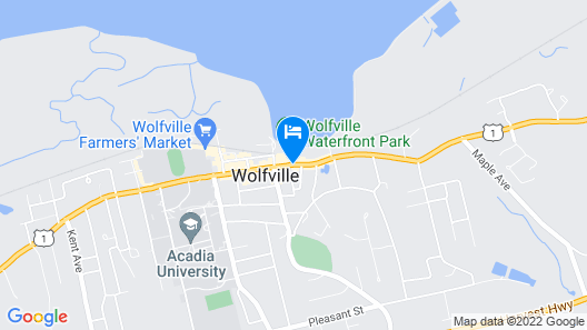Micro Boutique Living Wolfville Map