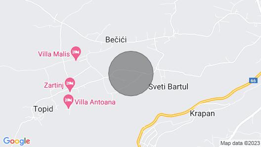 Villa Bartolo Map