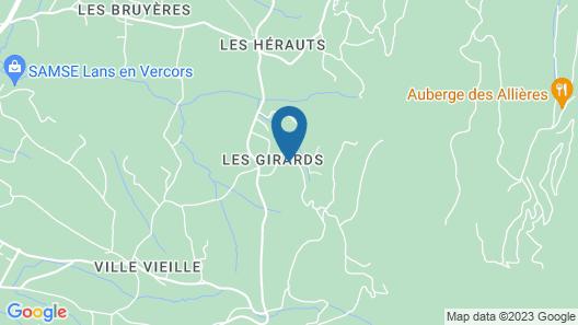 Château des Girards Map