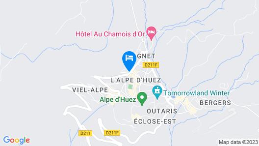 Alp'Azur Hotel Map