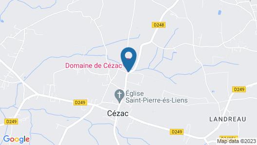Domaine DE Cezac-proche Bordeaux-st-emilion-arcachon-blaye Map