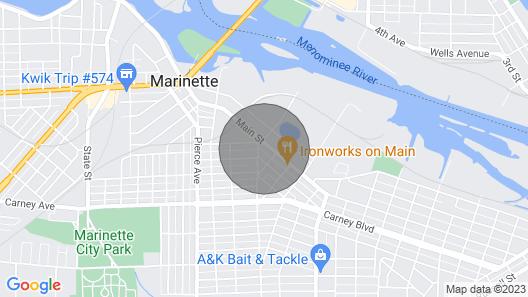 M & M Victorian Inn Map