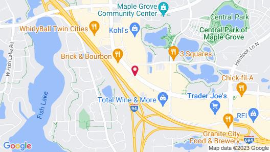 Staybridge Suites MPLS-Maple Grove/Arbor Lakes Map