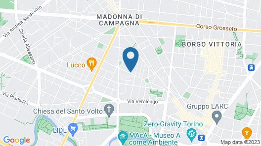 Smart Studio House near Stadium Map
