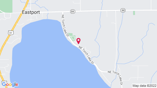 Torch Lake Bed & Breakfast Map
