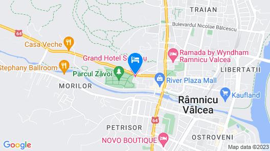 Grand Hotel Sofianu Map