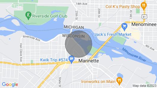 Lauerman House Inn Map