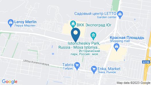 Four Points by Sheraton Krasnodar Map