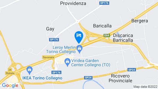 Diamante Mhotel Map