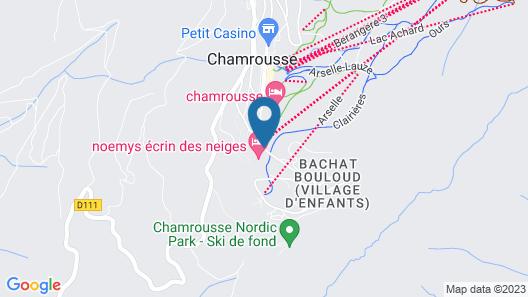 Noemys L'Ecrin des Neiges Map