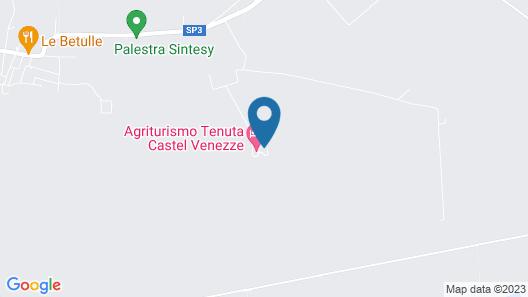 Agriturismo Tenuta Castel Venezze Map