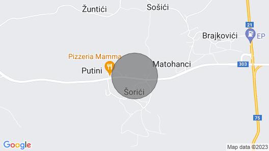 3 Bedroom Accommodation in Putini Map