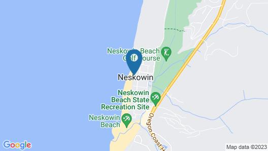 Pacific Sands Resort # 18 Map