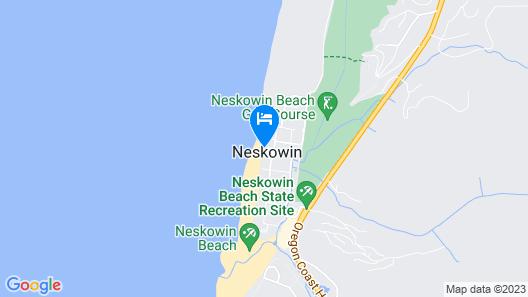 Pacific Sands Resort # 21 Map