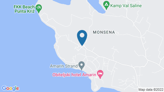 Mobile homes Amarin Map
