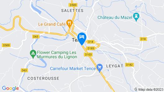 Logis Hôtel Restaurant de la Poste Map