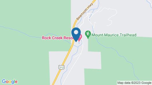 Rock Creek Resort Map