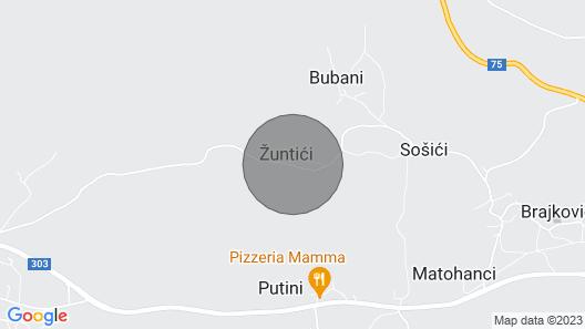 Istria Authentic Villa With Private Swimming Pool Villa Zonti Map