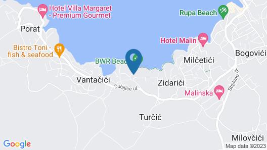 Blue Waves Resort Map