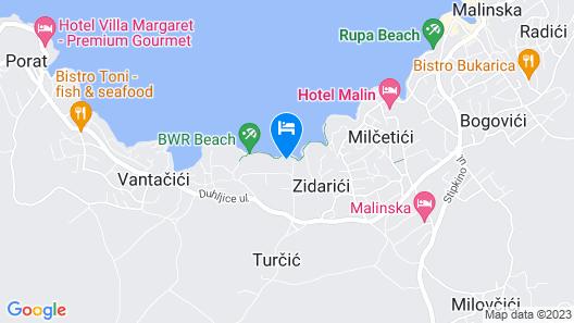 Hotel Vila Rova Map