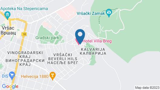 Hotel Villa Breg Map