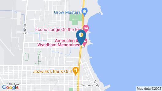 AmericInn by Wyndham Menominee Map