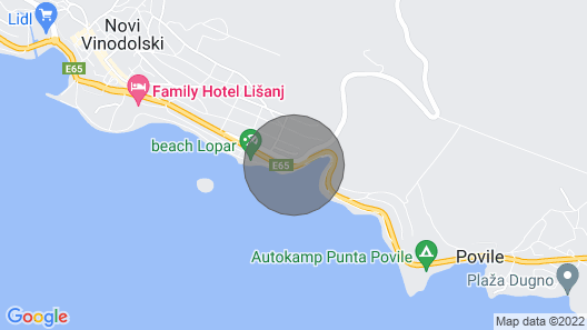 Holiday Apartment With Luxurious Equipment Map