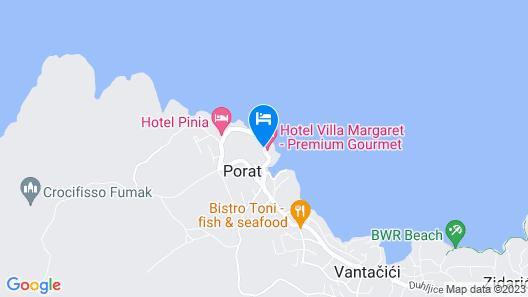 Hotel Villa Margaret Map